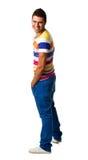 Young hispanic man standing Royalty Free Stock Photography