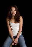 Young Hispanic Model Stock Photography