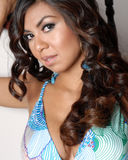 Young Hispanic woman Royalty Free Stock Photography
