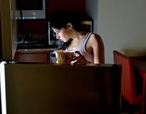 Young Hispanic woman at home Royalty Free Stock Image