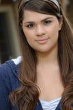 Young hispanic woman  portrait Stock Photos