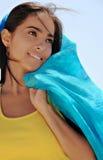 Young Hispanic Woman Smiling Stock Photography