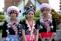 Young Hmong woman hilltribe posing. Stock Image