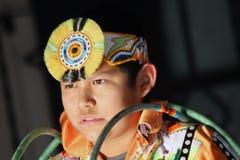 Young Hoop Dancer Stock Photo