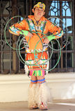 Young Hoop Dancer Stock Photos