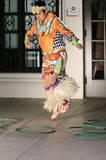 Young Hoop Dancer Stock Images