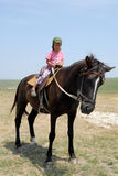Young  horseman Royalty Free Stock Photography
