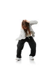 Young house dancer Royalty Free Stock Image