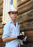 Young house painter Stock Image