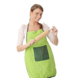 Young house wife Stock Image