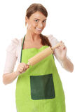 Young house wife Royalty Free Stock Images