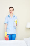 Young housekeeper Stock Photography