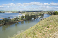 Young Husband, Murray River, South Australia Royalty Free Stock Image