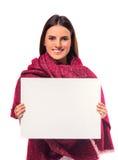 Young illness woman Stock Image