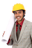 Young indian architect Royalty Free Stock Images