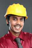 Young indian architect Stock Photo