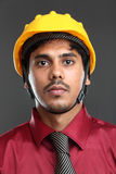 Young indian architect Stock Images
