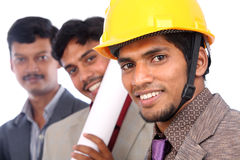 Young indian architects Royalty Free Stock Image