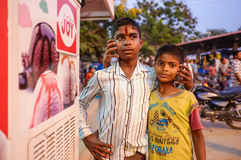 Young Indian boys Stock Images