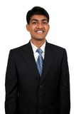 Young Indian business man. Smiling Stock Photos