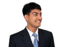 Young Indian business man. Smiling Stock Photography