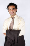 Young Indian Businessman Stock Photography
