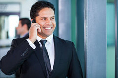 Young indian businessman Royalty Free Stock Photo