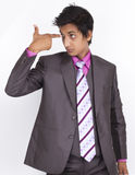 Young Indian Businessman Stock Images