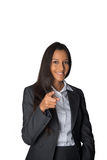 Young Indian businesswoman pointing at the camera Royalty Free Stock Photo