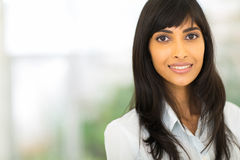Young indian businesswoman Royalty Free Stock Image