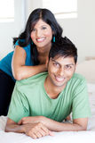 Young indian couple Stock Image