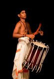 Young Indian drummer Royalty Free Stock Photos