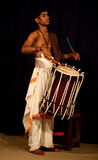 Young Indian drummer Royalty Free Stock Photography