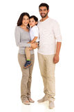 Young indian family Stock Photography