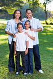 Young indian family Royalty Free Stock Photo