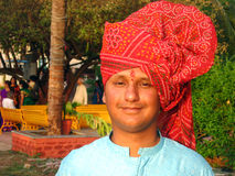Young Indian Farmer Stock Photo