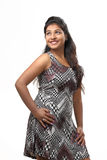 Young Indian Girl posing in style for product shoot Stock Photo