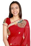 Young Indian girl in traditional clothing. Stock Photos