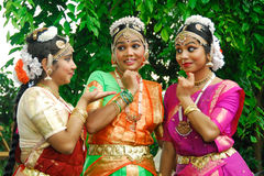 Young indian girls Royalty Free Stock Photography