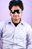 Young indian male model wearing glasses Stock Photography