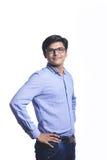 Young Indian man. Positive attitude Stock Photos