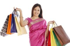 Young Indian traditional woman Stock Photography