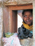 Young indian tribal woman Stock Photography