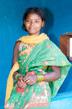 Young indian tribal woman Royalty Free Stock Photos
