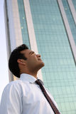 Young indian with vision of successful future Stock Images