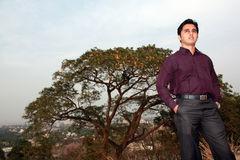 Young Indian Visionary Stock Images