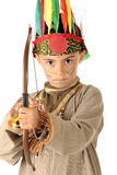 Young Indian Warrior Royalty Free Stock Photos