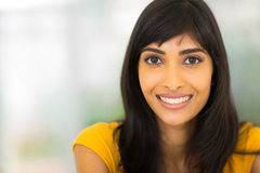 Young indian woman Stock Photography