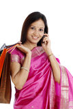 Young Indian woman Royalty Free Stock Photos