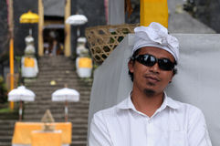 Young Indonesian of Indian faith Stock Photography